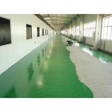 Epoxy waterborne flat coating floor paint