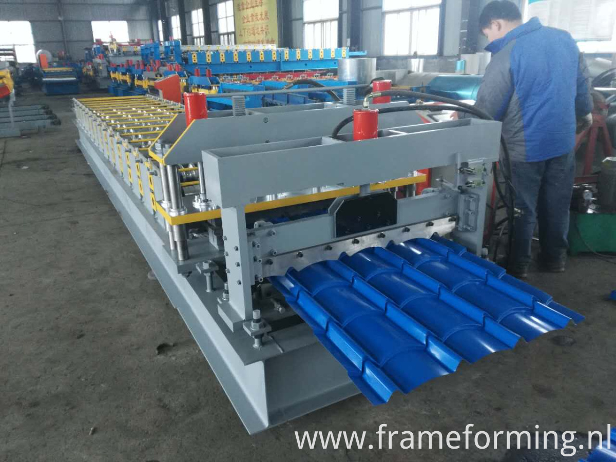 roof sheet production line