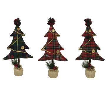 christmas tree TV desk decoration ideas
