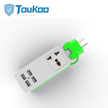 USB port travel universal portable extension socket