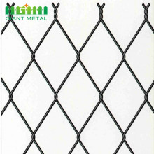 Construction PVC Coated Chain Link Fence
