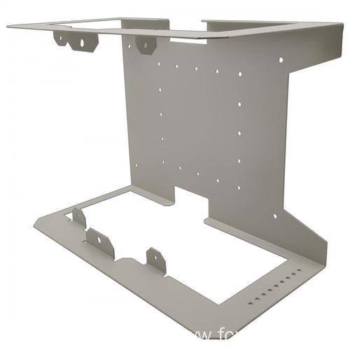 Custom Galvanized Steel Laser Cutting Brackets Fabrication