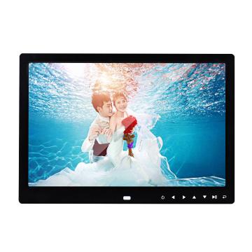 12 inch HD Digital Photo Frame 1280x800 Picture Multi-Media Music Video Player Remote Control MP3 MP4 Alarm Clock Picture Holder