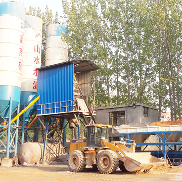 Belt type 35m3 concrete batching plant