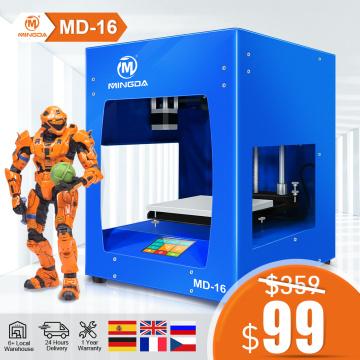 3D Printer Metal 3D Printer Kit 3D Printing 3D Kit Printer PLA ABS TPU Full Metal Frame Mingda MD16 Vs Ender 3 Pro EU Warehouse