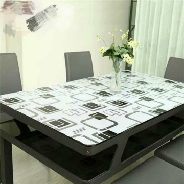 wipe clean oilcloth pvc printed cover table cloth