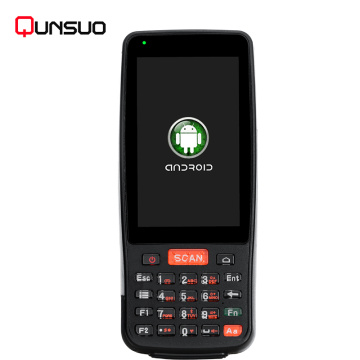 Handheld 4G Android PDA Barcode Qr code scanner