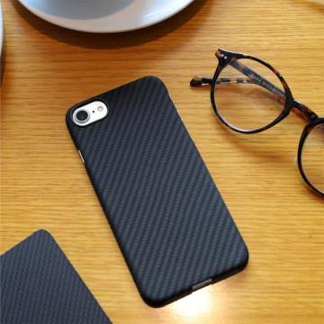 Funda de fibra de carbono iPhone7 Plus extra fina