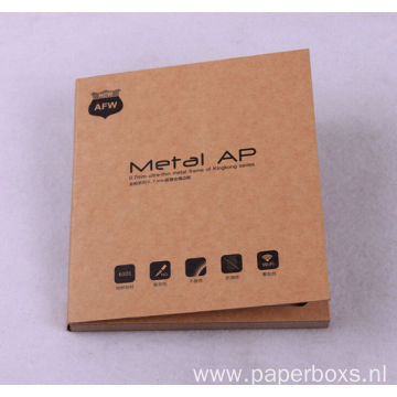 Custom Kraft Paper Book Shape Cosmetic Paper Box