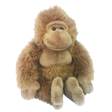 Plush Orangutan Brown Toy