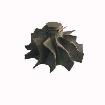 Turbine wheel compressor wheel lost-wax-casting