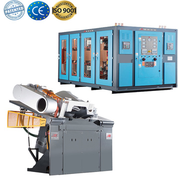 scrap ingot induction furnace for melting metal