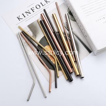 Reusable Metal Drinking Straws Stainless Steel Straws