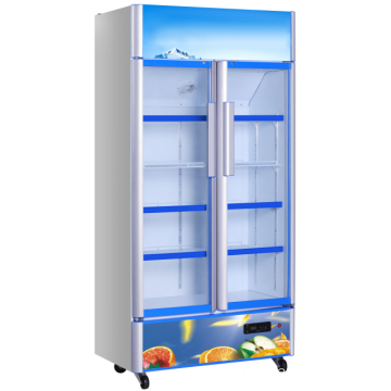 Commercial Glass Door Display Refrigerator