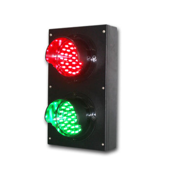 small metal 100mm traffic signal light