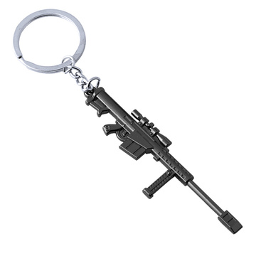Nice Style Personalized Gun Shape Metal Key Chain