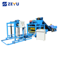 Automatic cement brick block making machine