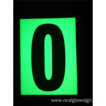Realglow Photoluminescent Flat Number 0