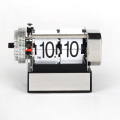 Small White Alarm Flip Clocks For Decor