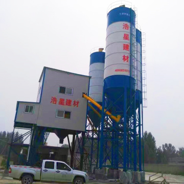 New HZS60 portable concrete batching plant price