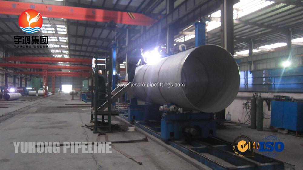 Super Duplex Steel Welded Pipe ASTM A790 S32760