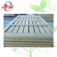 1220X2440mm radiant pine  finger joint board