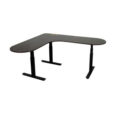 3 Legs L Shape Electrically Adjustable Desk