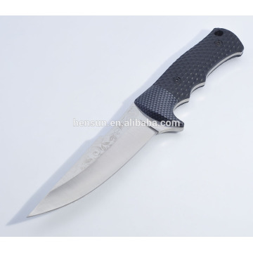 Fixed Blade Plastic Handle Best Hunting Knife