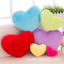 Custom plush heart shaped pillow