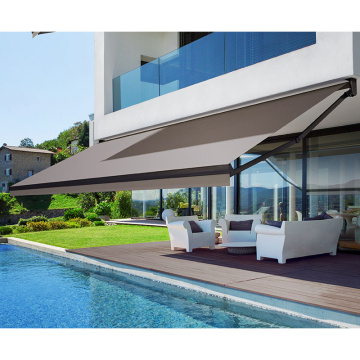 charlotte multicolor manual balcony awning