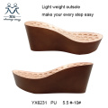 Wedge Heel Outsole for Ladies Sandals