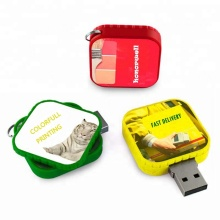 Square Swivel USB-Flash-Laufwerk