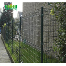 PVC Coated Triangle Bending Welded Metal Fence