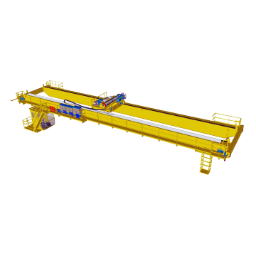 18 t electric double beam overhead crane price
