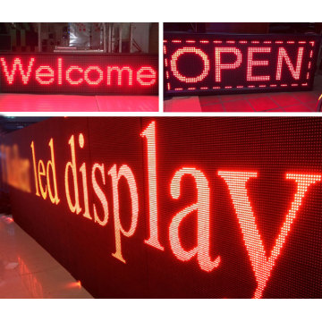 single red price LED display screen