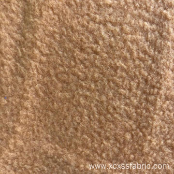polyester dyed polar fleece fabric
