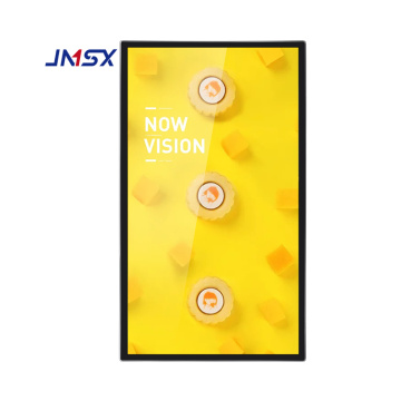 Slim Indoor Wall Mount LCD windows Signage