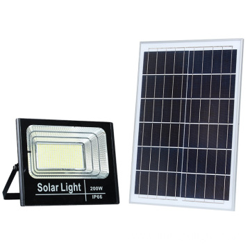 Solar Powered Slim IP65 Waterproof Outdoor Floodlight