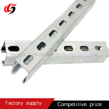 solar panel photovoltaic bracket slotted C channel