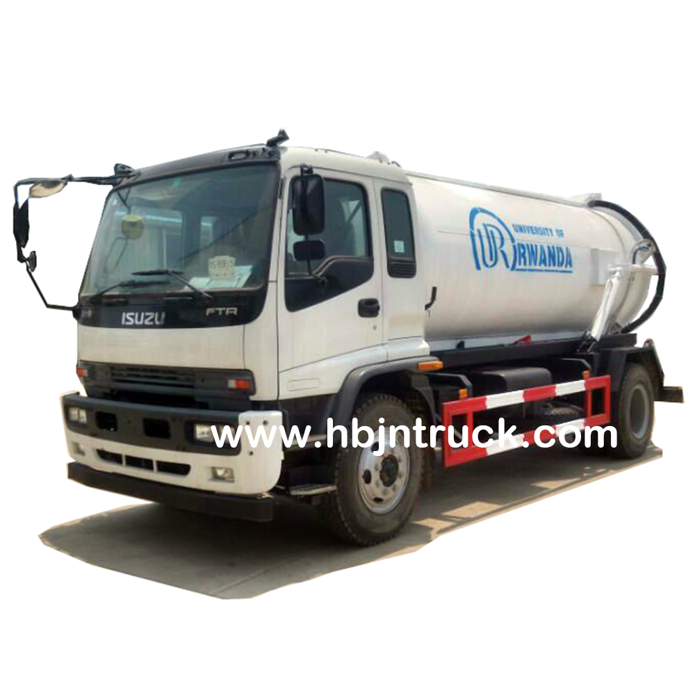 Isuzu Sewage Suction Truck