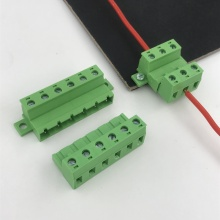 XINKE panel fixed terminal block with flange