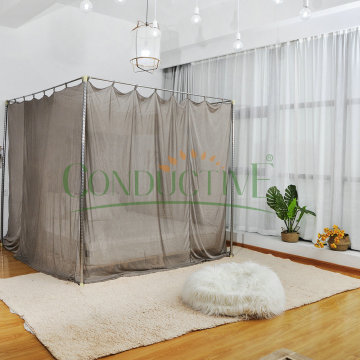 EMF protection bed Canopy Anti radiation Mosquito Net