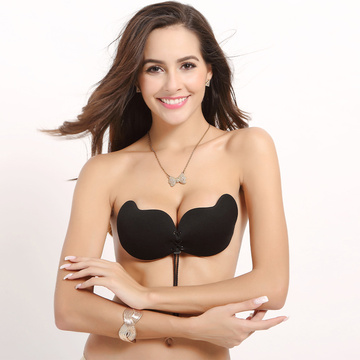 Blackless Sticky Silicone Push Up bras