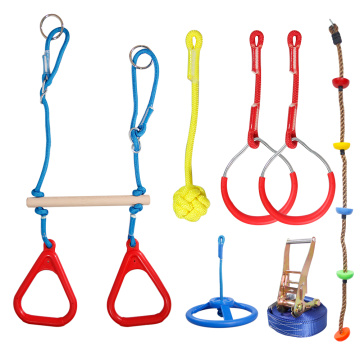 GIBBON  Warrior Training Equipment for Kids with Slackline