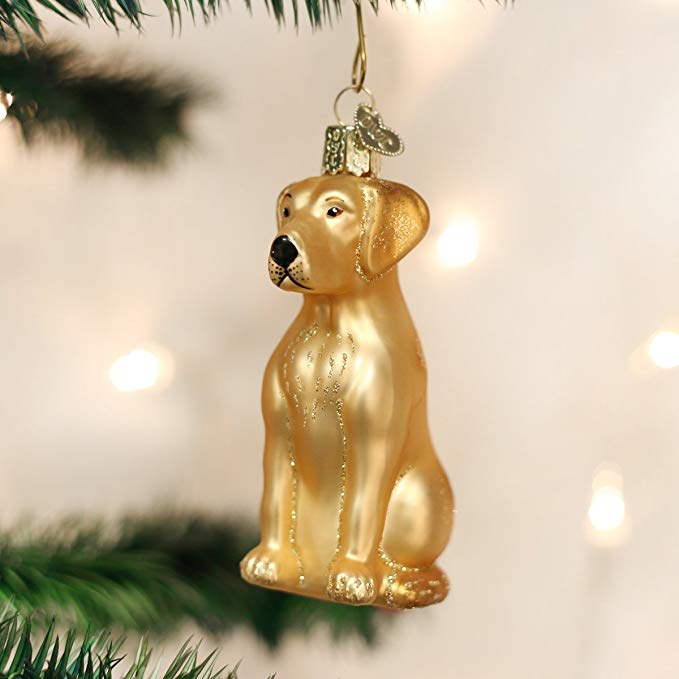 Christmas Labrador Ornament