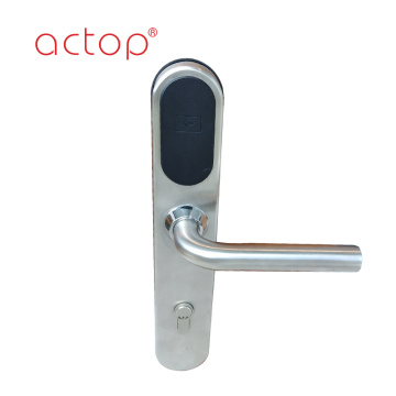 European stainless smart hotel mortise door lock