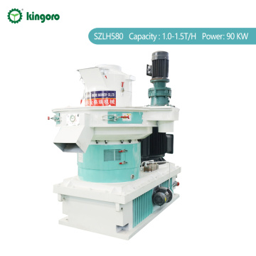 1.0-1.5TPH Wood Sawdust Pellet Machine for Sale