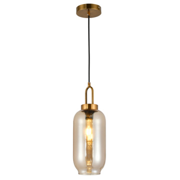 Restaurant metal glass Pendant lamp