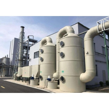 Industrial wet dust collector systems gas scrubbers
