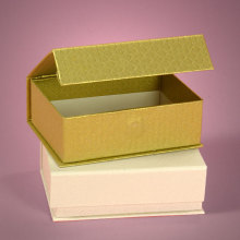 Empty Cardboard Chocolate Paper Box